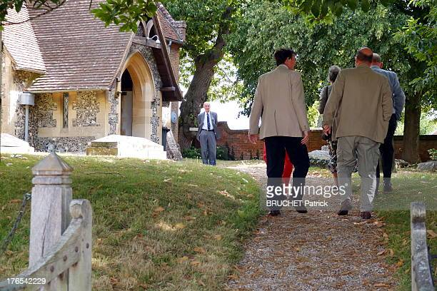 The church of Bucklebury on July 28 2013 in BuckleburyEngland Bucklebury is the home of the Middleton family and where Catherine Duchess of Cambridge...