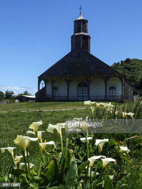 The Church of Quinchao Quinchao Island was built in 1880 and declared a National Monument of Chile in 1971 The wooden churches of the Chiloe...