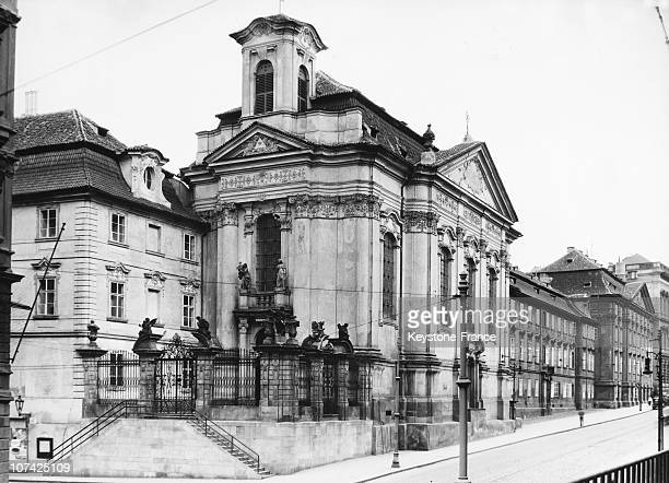 The Church Of Saint Cyril And Saint Methodius At Prague In Germany Tchecoslovaquie On May 1942