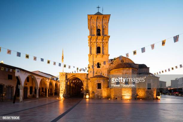 the church of saint lazarus in larnaca - republic of cyprus stock pictures, royalty-free photos & images