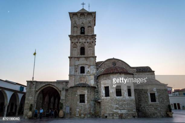 the church of saint lazarus, larnaca, cyprus - limestone pavement stock pictures, royalty-free photos & images