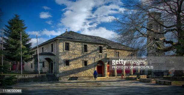 the church of saint paraskevi at metsovo - epirus greece stock pictures, royalty-free photos & images