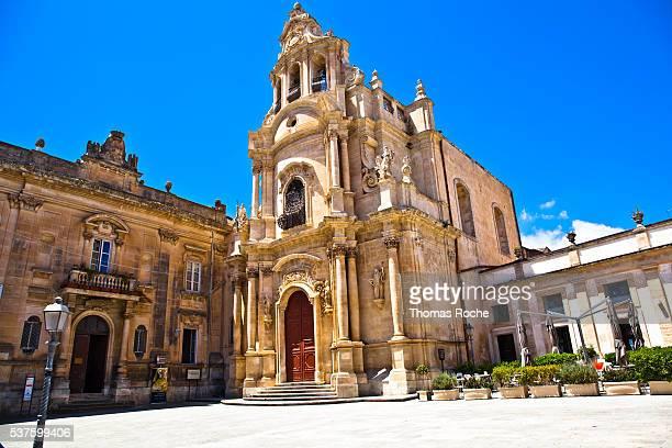 The church of San Giuseppe in Ragusa Sicily