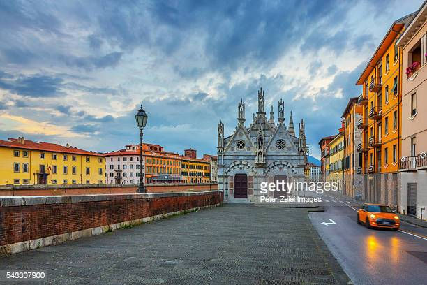 The church of Santa Maria della Spina in Pisa,Tuscany, Italy