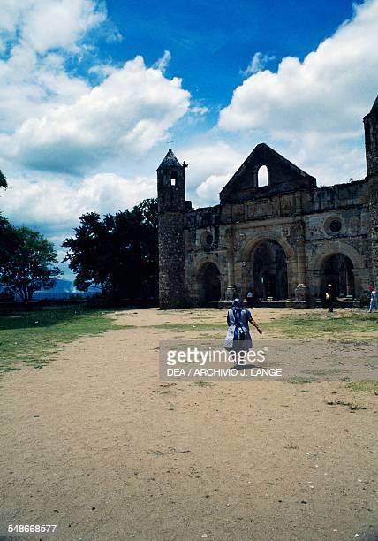 The church of Santiago Apostol Cuilapan Oaxaca Mexico 16th century