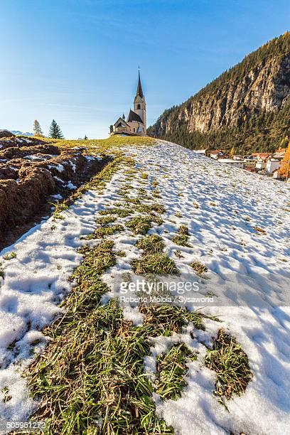 The church of Schmitten Switzerland