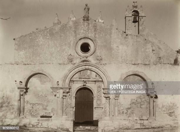 The Church of St John at the Catacombs Syracuse Italy photograph Giovanni Crupi Taormina ca 1890