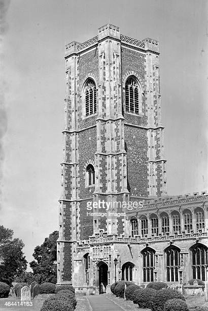 The Church of St Peter and St Paul Lavenham Suffolk c1965c1969 The church is justly famous for its 'rewarding architecture and interesting history'...
