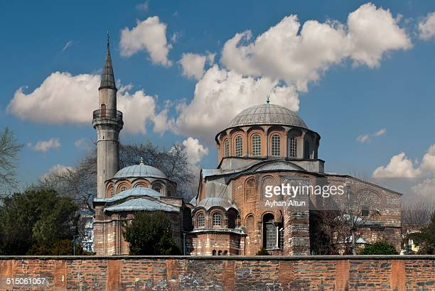 the church of the holy saviour in chora,istanbul - kariye museum stock pictures, royalty-free photos & images