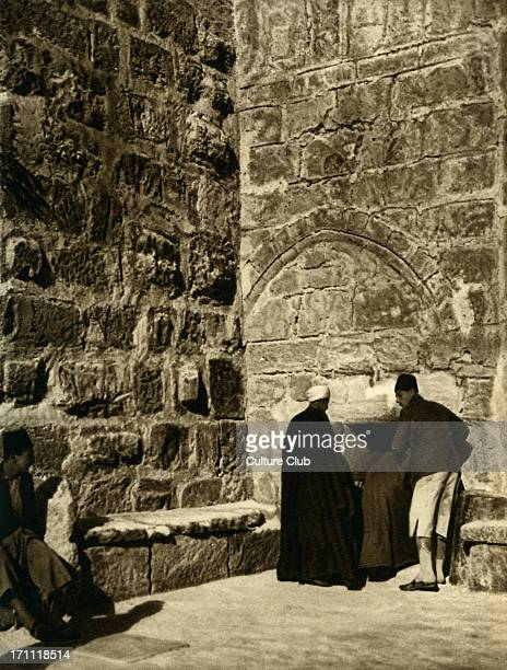The Church of the Nativity, main entrance, Bethlehem.