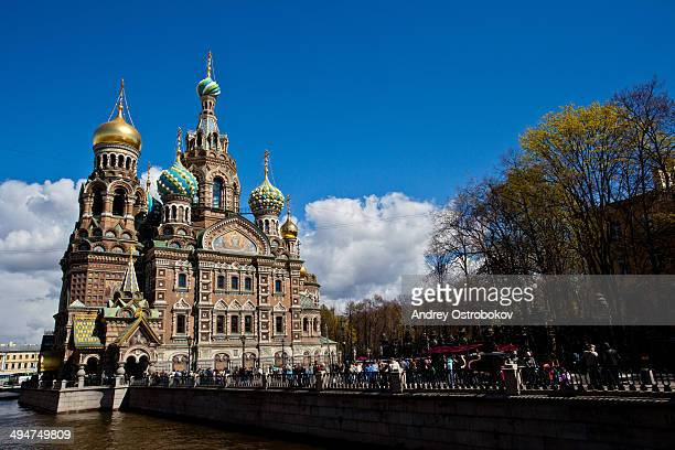 CONTENT] The Church of the Savior on Spilled Blood is one of the main sights of St Petersburg Russia It is also variously called the Church on Spilt...