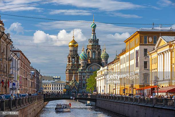 the church of the spilled blood. - サンクトペテルブルク ストックフォトと画像