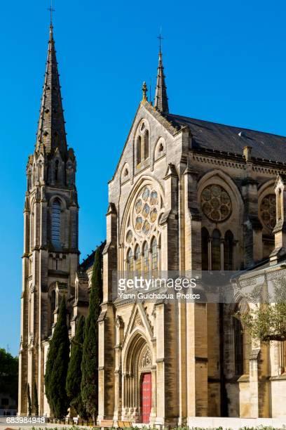 The church Saint Baudile, Nimes, Gard, France