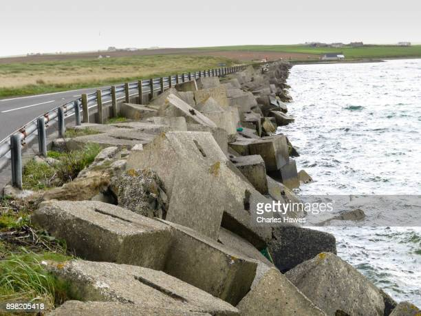 The Churchill Barriers. The Orkney Islands archaeology - May