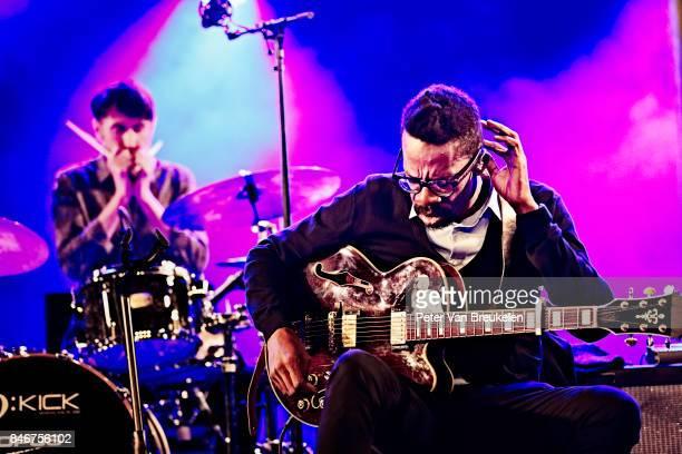 The Cinematic Orchestra Performs at Jazz Middelheim Festival on August 04 2017 in Antwerp Belgium