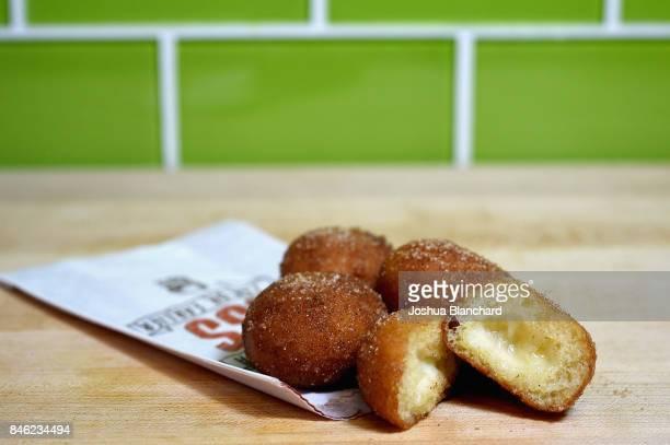 The Cinnabon Delights are a sweet treat on Taco Bell's breakfast menu