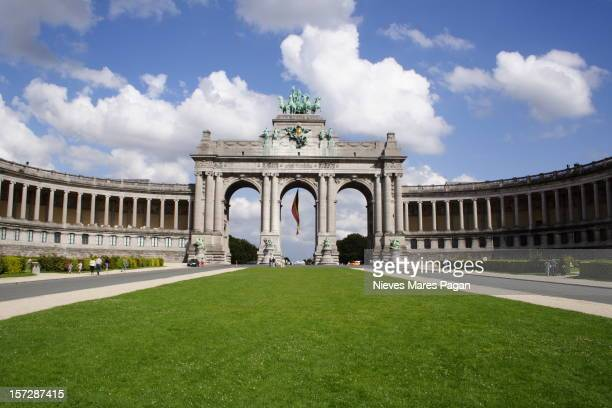 The Cinquantenaire Arch (Brussels)