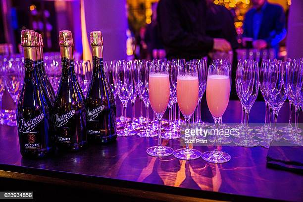 The Cipriani New York bellini bar at the opening night unveiling of RH Seattle The Gallery at University Village on November 16 2016 in Seattle...