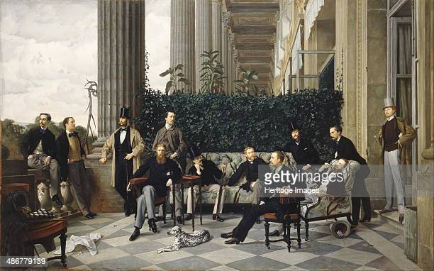 The Circle of the Rue Royale, 1868. Artist: Tissot, James Jacques Joseph