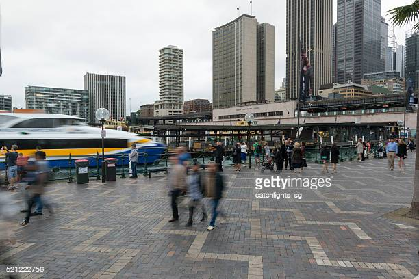 The Circular Quay, Sydney Australia