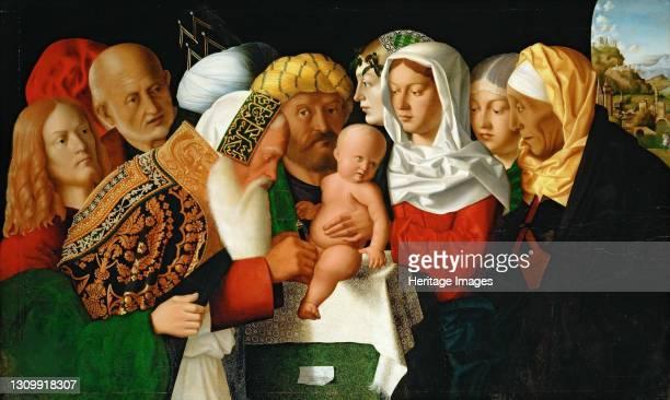 The circumcision of Christ, ca 1506. Found in the collection of Musée du Louvre, Paris. Artist Veneto, Bartolomeo . .