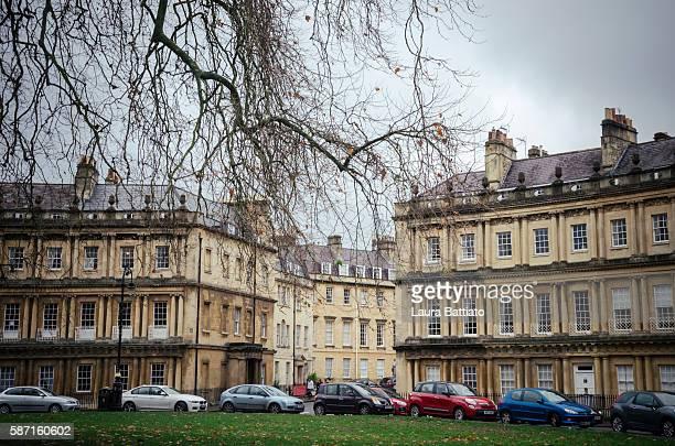 The Circus (King's Circus), Bath, Somerset, England