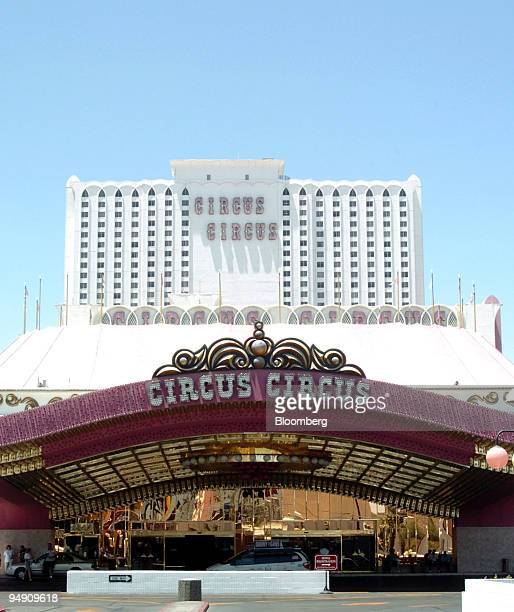 The Circus Circus hotel and casino is seen in Las Vegas Nevada on June 11 2004 MGM Mirage the No 3 US casino company raised its offer for Mandalay...