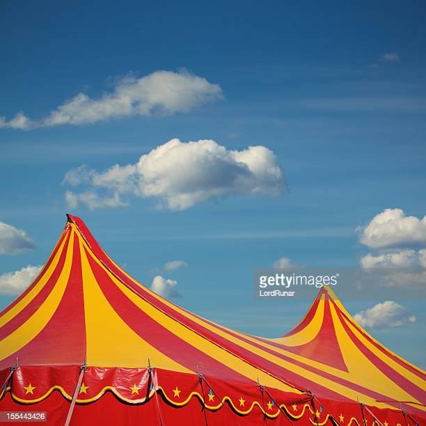 the circus è in città - tendone di circo foto e immagini stock