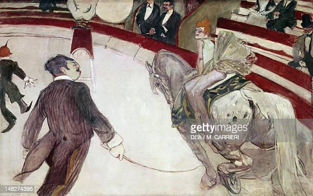 The Circus Fernando 18871888 by Henri de Toulouse Lautrec oil on canvas 1003x1613 cm Chicago Art Institute Of Chicago