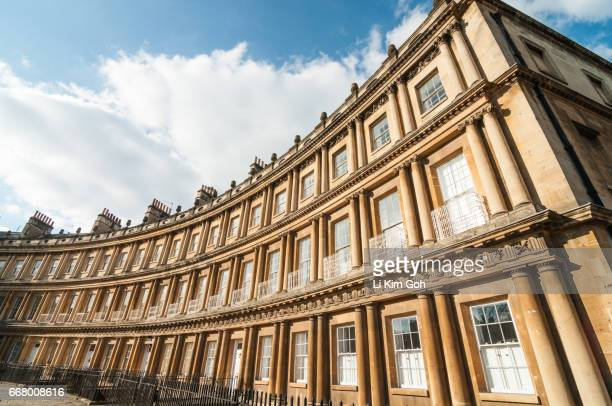 The Circus in Bath, Somerset, England
