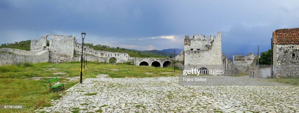 The citadel and castle of Berat (UNESCO World Heritage site), Albania : Stockfoto