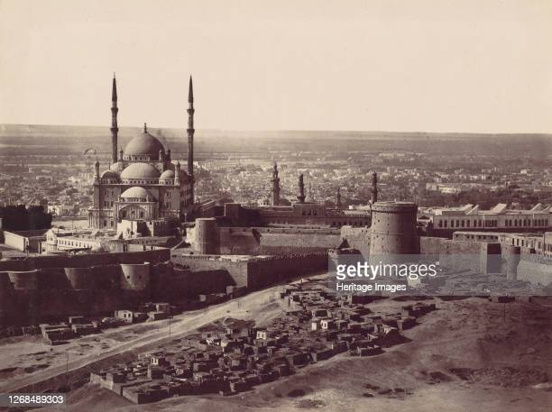 The Citadel and the Mosque of Mohammed Ali, Cairo, 1870s. Artist Unknown.