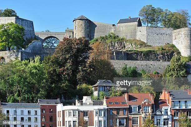 The Citadel / Castle of Namur along the river Meuse, Belgium.