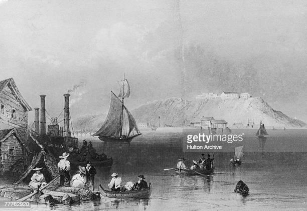 The citadel in Kingston harbour Jamaica 1839