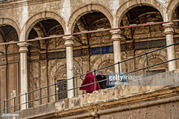 the citadel of cairo, egypt _2 - namaz stock pictures, royalty-free photos & images