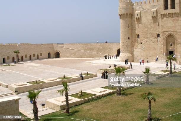 The Citadel of Qaitbay (Fort of Qaitbay), Alexandria, Egypt
