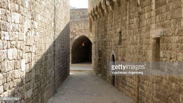 the citadel of raymond de saint-gilles (the citadel of tripoli) - argenberg - fotografias e filmes do acervo