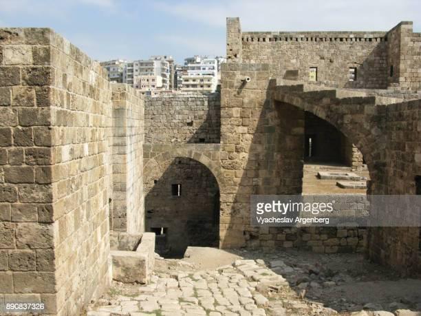 the citadel of tripoli (the citadel of raymond de saint-gilles) - argenberg - fotografias e filmes do acervo