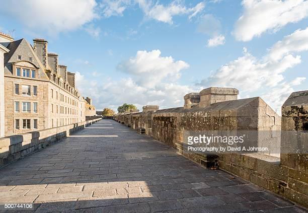 The Citadel Walls-St Malo.