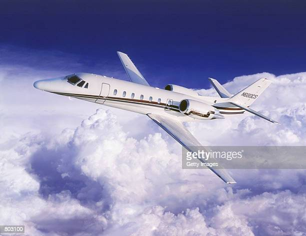 The Citation Sovereign a corporate jet in an undated file photo may one model that will be used by United Airlines to win the premiumclass customers...