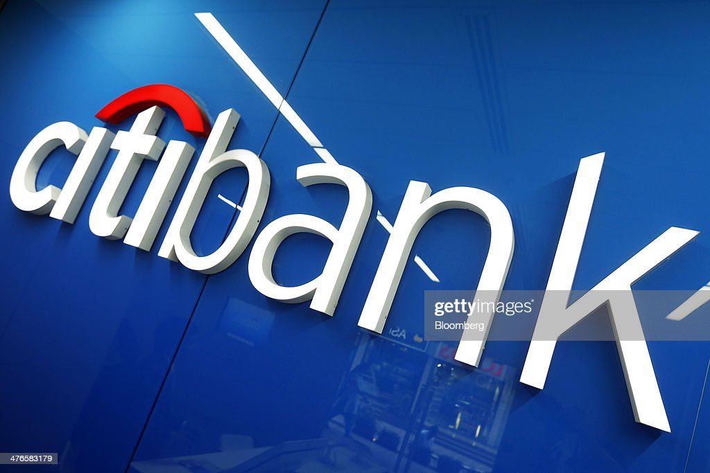 The Citibank logo is displayed inside a Citigroup Inc  Citibank