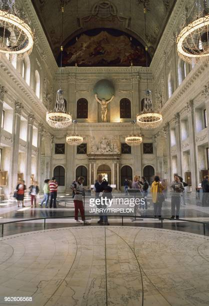 The Citizens hall of the Royal Palace, Amsterdam, Noord Holland region, Netherlands, Holland.