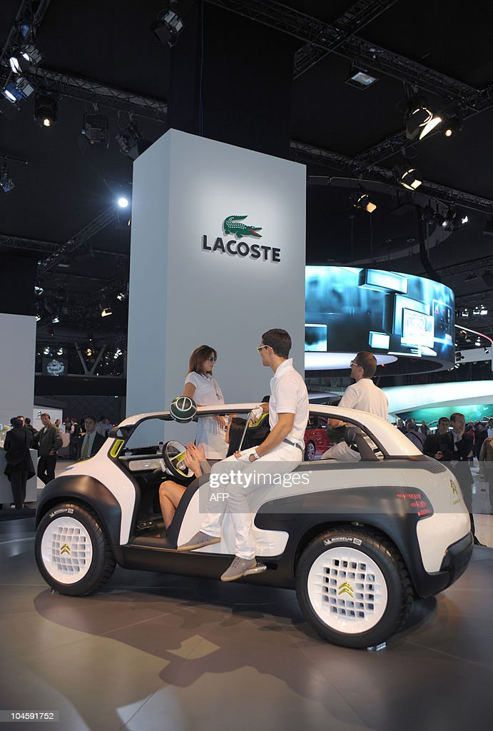 The Citroen Lacoste Concept Car Is Prese Pictures Getty Images
