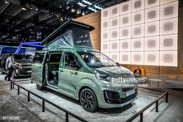 The Citroën Space Tourer Rip Curl on display at the 2017 Frankfurt Auto Show 'Internationale Automobil Ausstellung' on September 13 2017 in Frankfurt...