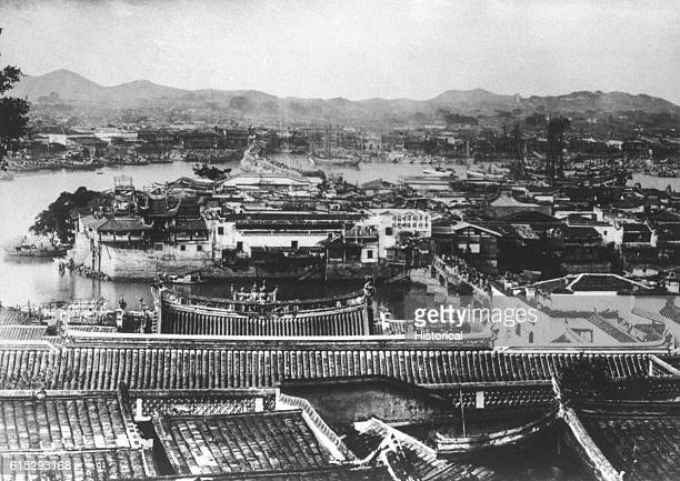The city and seaport of Foo Chow China first appeared during the T'ang dynasty It became one of the first treaty ports open to trade by Treaty of...