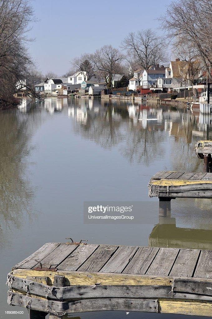 The City Boat Docks Of Niagara Falls Ny Located On The