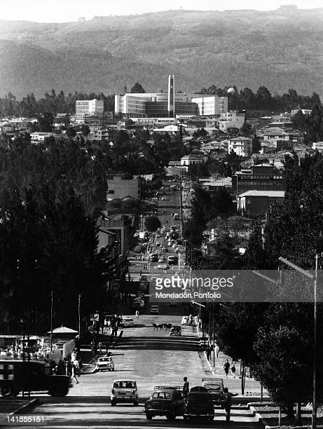 The City Council of Addis Ababa at the end of Churchill Road Addis Ababa 1970s