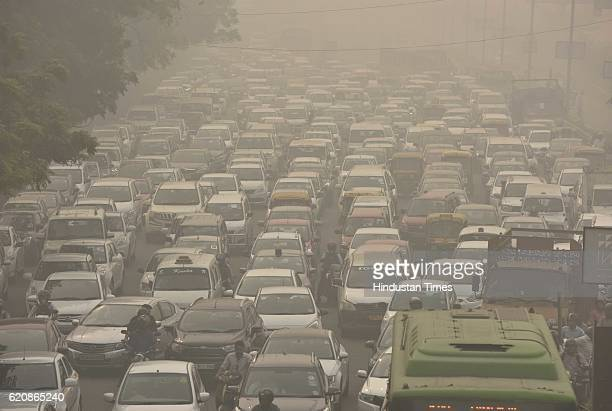 The city covered under a blanket of heavy smog as air quality deteriorated sharply overnight leading to poor visibility conditions across the city on...
