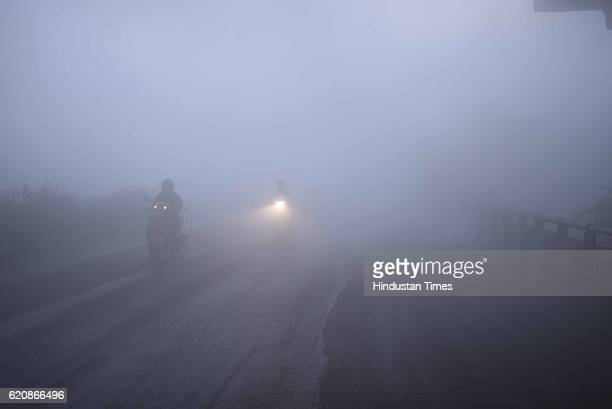 The city covered under a blanket of heavy smog as air quality deteriorated sharply overnight leading to poor visibility conditions across the city at...
