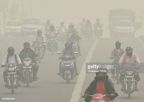 The city covered under a blanket of smog as air quality deteriorated sharply overnight leading to poor visibility conditions across the city on...